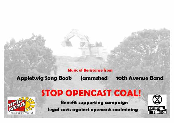 Picture for event Fundraising event against opencast coal mining in the North East