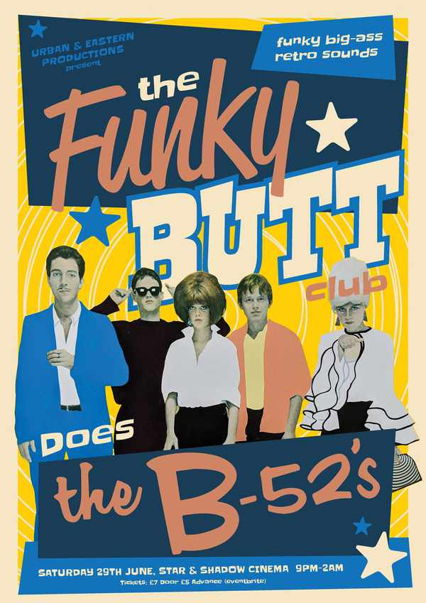 Picture for event The Funky Butt club does B-52s